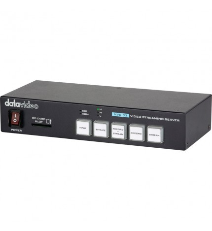 Datavideo NVS-33 Professional Streaming Encoder and Recorder