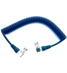 V-Gear VG-VIDCOIL Super-High Grade Coiled SDI Cable with BNC to BNC Connectors