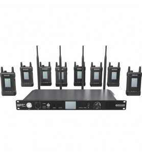 AirAV / Hollyland Syscom 1000T8-AU Pro 8 Channel Wireless Intercom System