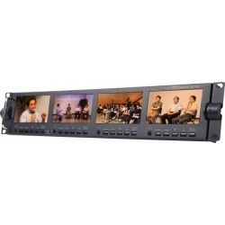 "Datavideo TLM-434H 4 x 4.3"" Broadcast Rack Monitor"