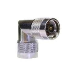 AirAV ADP-106 N-Male to N-Male Right-Angle Adaptor