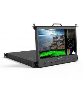 "Lilliput 17.3"" 1RU Rack-mount Pull-Out Monitor"