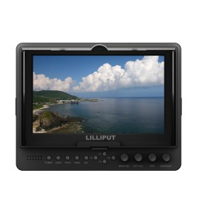 "Lilliput 665/S Professional 7"" HD Monitor with 3G-SDI, HDMI & Component & Composite Inputs"