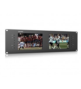 """Lilliput RM-7028S Dual 7"""" Rack-mount Monitor - DISCONTINUED"""