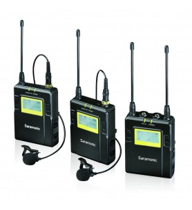 Saramonic UwMic9 2 Channel UHF Wireless Mic System - 514 MHz - 596 MHz
