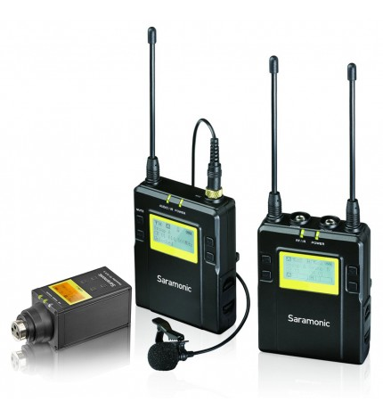Saramonic UwMic9 2 Channel UHF Wireless Mic System