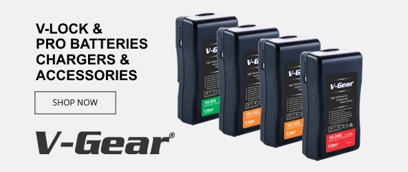 V-Gear Professional Batteries and Chargers